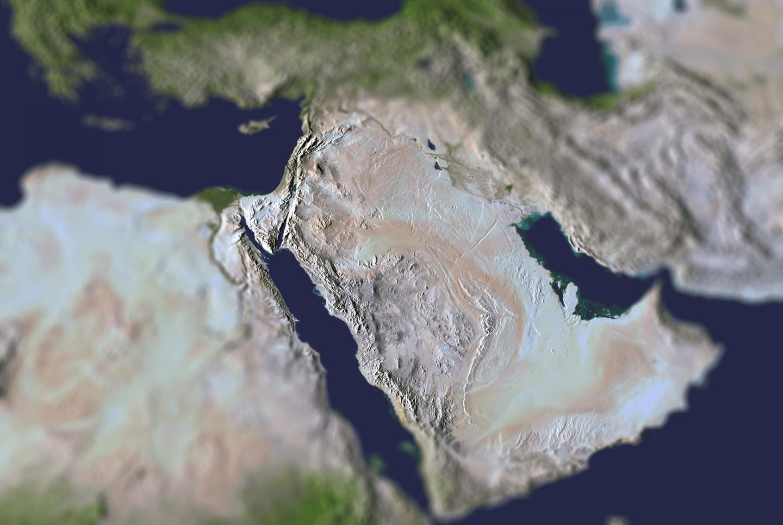 Lista alfabetică a țărilor Orientului Mijlociu