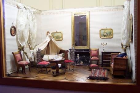 Interiorul Musée Alsacien