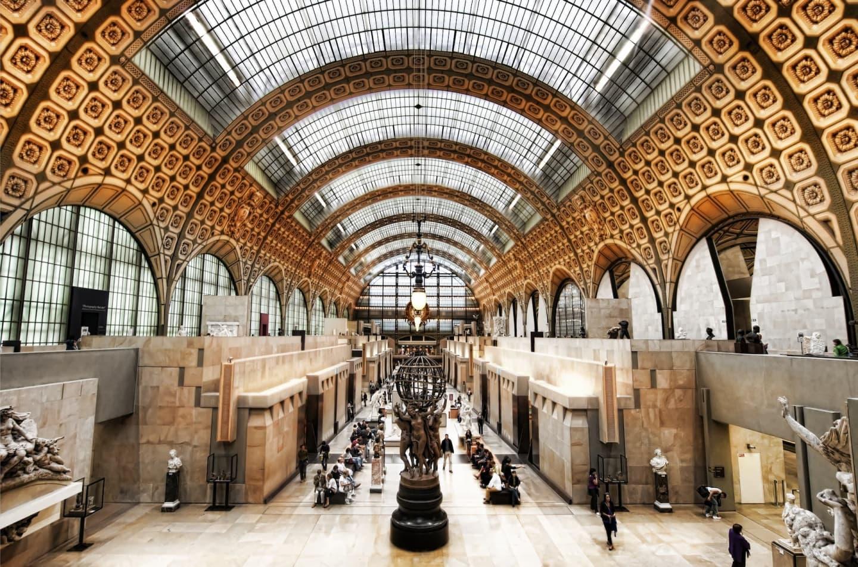 Aula mare a Muzeului Orsay