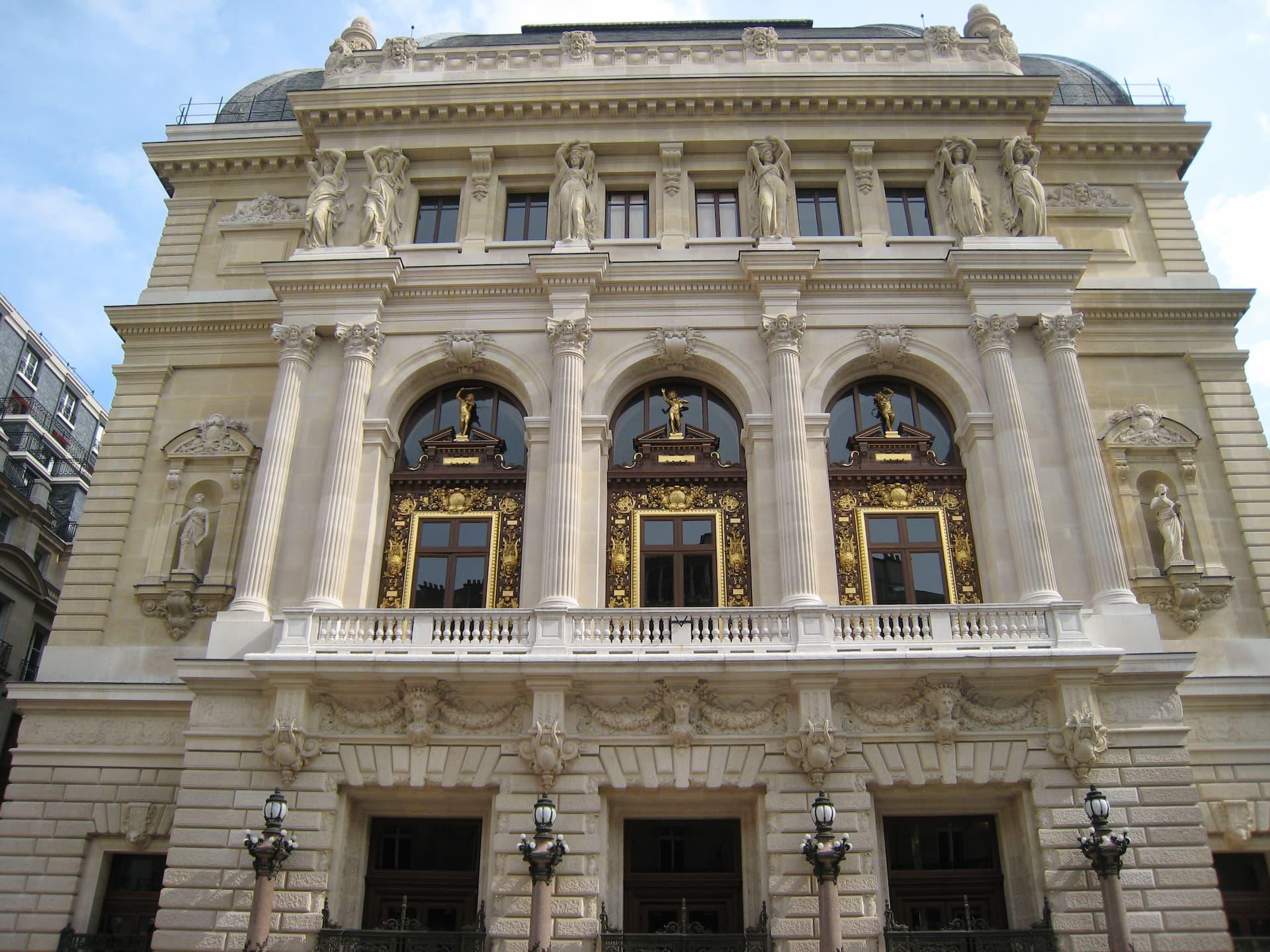 Clădirea Teatrului Național Opera Comique