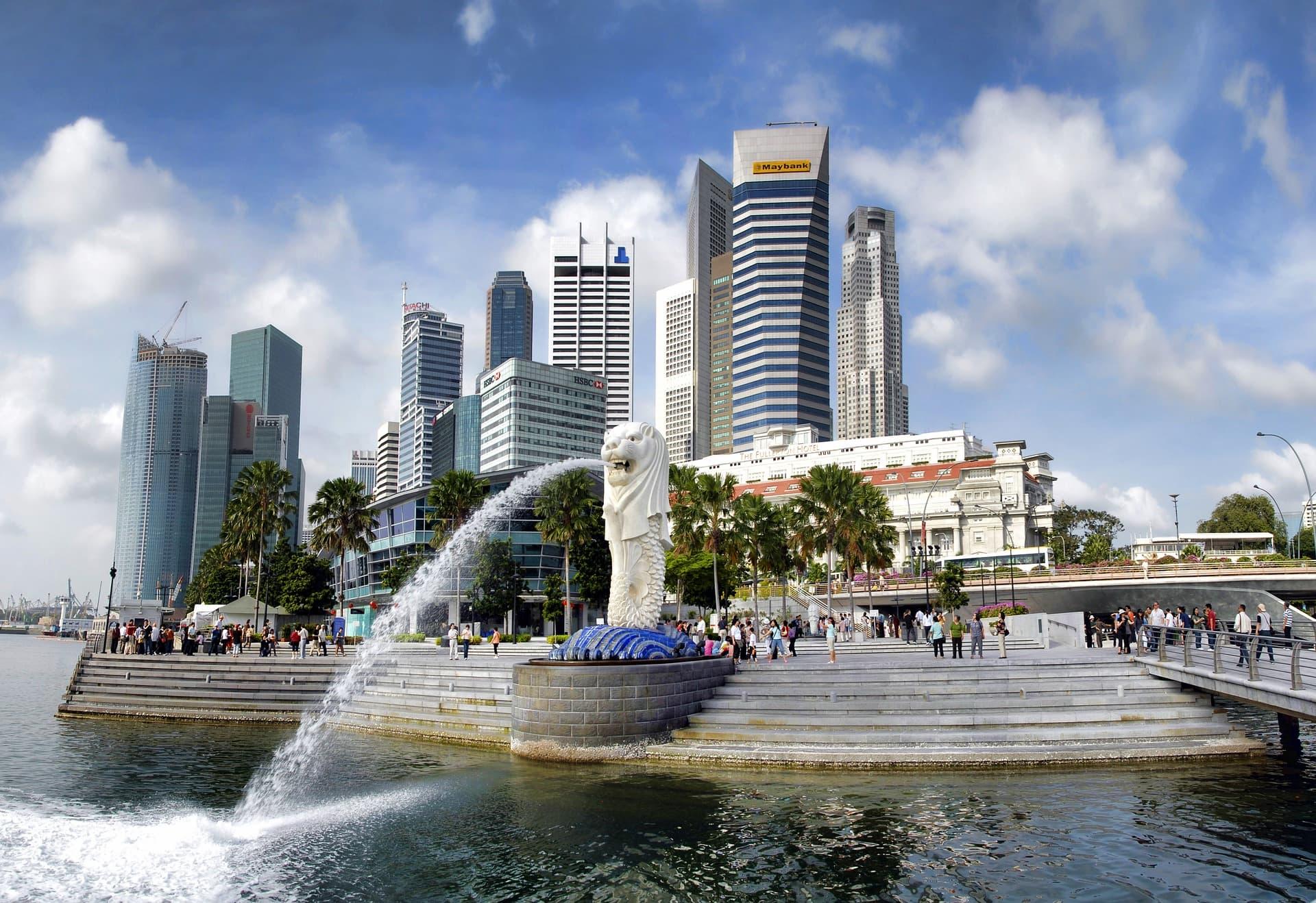 Locul 2 cele mai bogate țări, Singapore