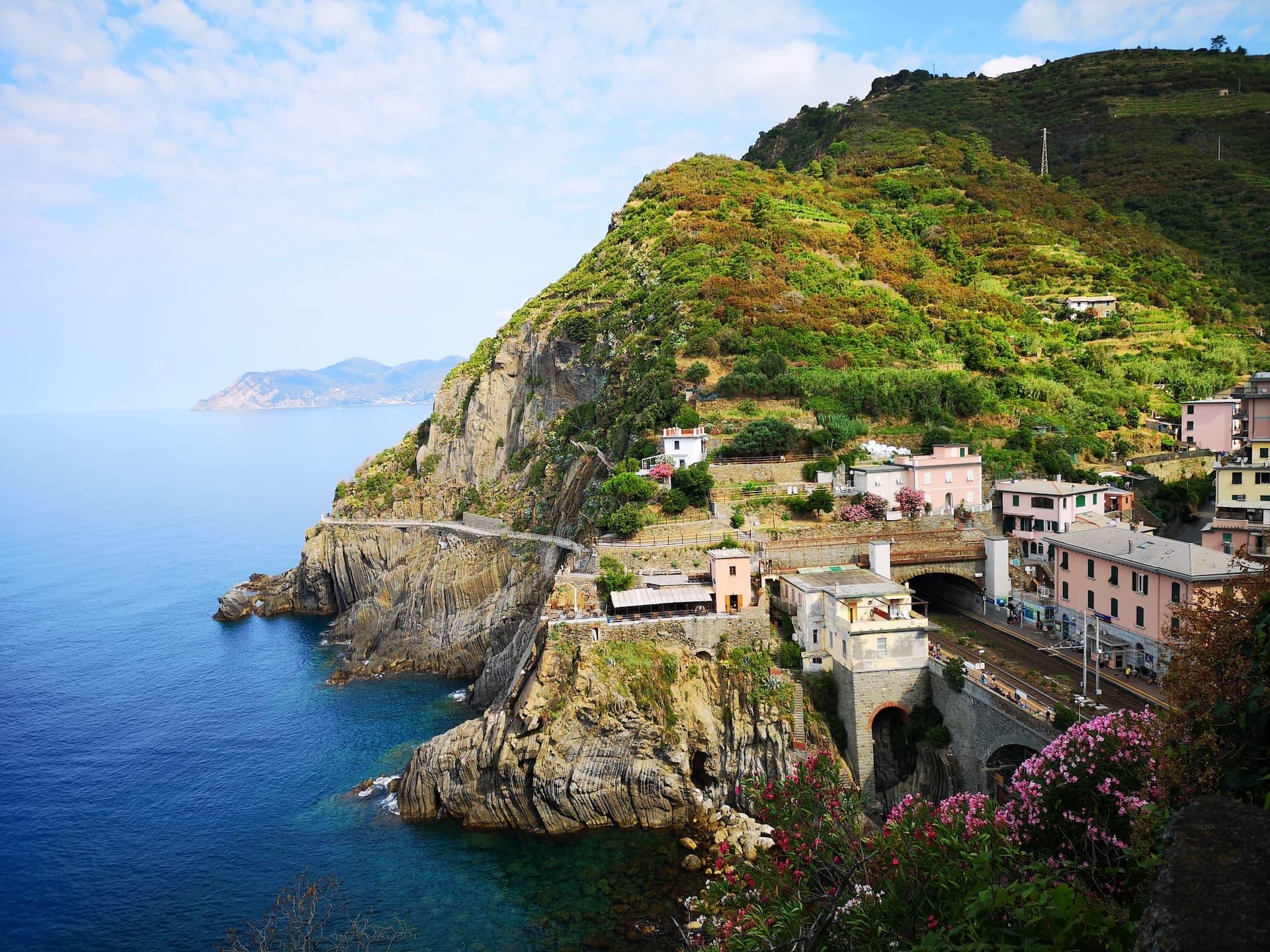 Decorul natural în Cinque Terre