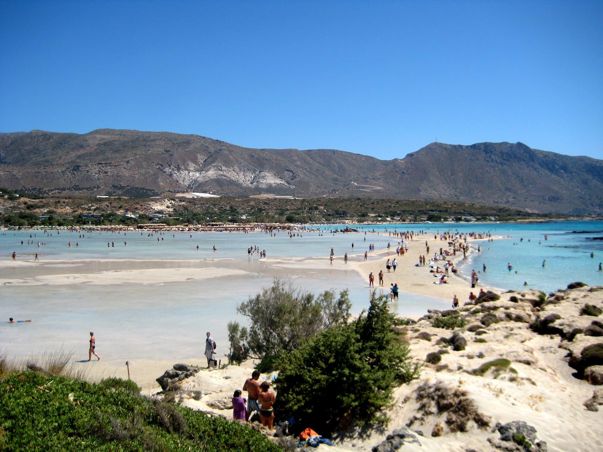 Top 5 cele mai frumoase plaje din Grecia - Elafonisi din Creta