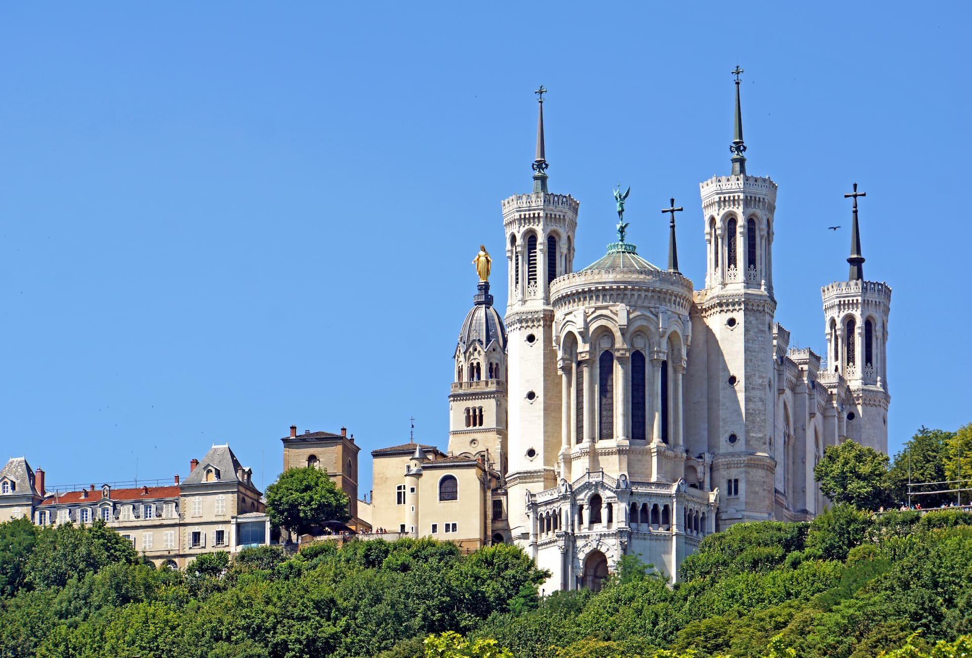 Bazilica de pe colina Fourvière din Lyon