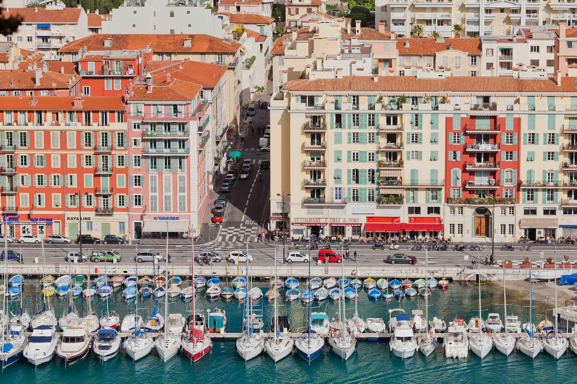 Ambarcațiuni în Nisa