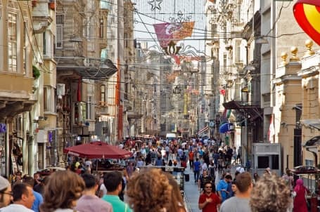 Shopping în Taksim